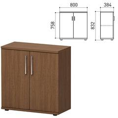 """Шкаф закрытый """"Директ"""", 800х384х832 мм, орех онтарио (КОМПЛЕКТ)"""