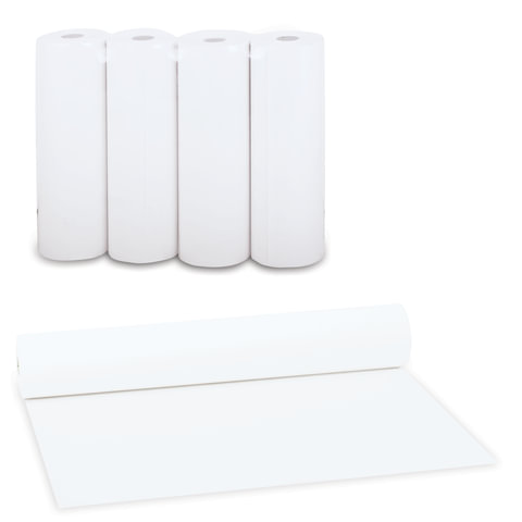Рулоны для принтера, белизна 96%, 210х64х18, комплект 4 шт., STARLESS