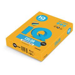 Бумага цветная IQ color, А4, 80 г/м2, 500 л., тренд, старое золото, AG10