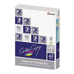 Бумага COLOR COPY SILK, мелованная, матовая, А3, 200 г/м2, 250 л., для полноцветной лазерной печати, А++, Австрия, 138% (CIE)