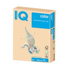 Бумага IQ (АйКью) color, А3, 80 г/м2, 500 л., умеренно-интенсив (тренд) золотистая, GO22