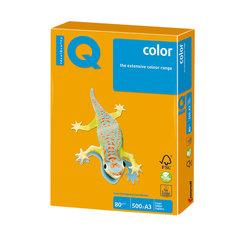 Бумага IQ (АйКью) color, А3, 80 г/м2, 500 л., умеренно-интенсив (тренд) старое золото, AG10
