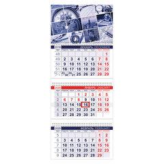 """Календарь квартальный 2020 год, """"Офис"""", 3 блока на 3-х гребнях, """"Ритм города"""", HATBER, 3Кв3гр3_20553"""