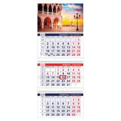 """Календарь квартальный 2020 год, """"Офис"""", 3 блока на 3-х гребнях, """"Венеция"""", HATBER, 3Кв3гр3_19149"""