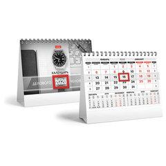 """Календарь-домик 2020 год, на гребне, 160х105 мм, горизонтальный, """"Красно-черный"""", HATBER, 12КД6гр_18818"""