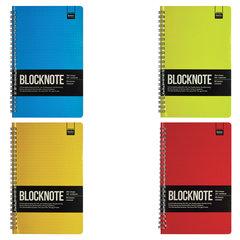 """Бизнес-Блокнот А5, 60 л., гребень, ламинированный картон, клетка, Альт, """"ACTIVE BOOK"""", (4 вида)"""