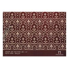 """Альбом для пастели А4 210х297 мм, 20 л., 280 г/м2, цвет """"слоновая кость"""", сутаж, """"Палаццо"""", АПС4"""
