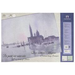 """Папка для пастели и акварели/планшет А3, 20 листов, 2 цвета, 200 г/м2, тонированная бумага, """"Венеция"""", ПЛ-6457"""