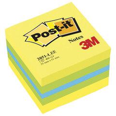 "Блок самоклеящийся (стикер) POST-IT ORIGINAL ""Лимон"" 51х51 мм, 400 л., ассорти, 2051-L"