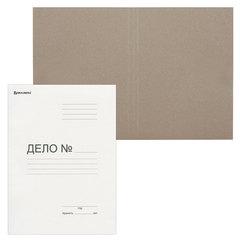 """Папка без скоросшивателя """"Дело"""", картон. плотность 280 г/м2, до 200 листов, BRAUBERG, 122293"""