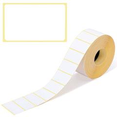 Этикетка ТермоЭко (47х26 мм), 2000 этикеток в ролике, светостойкость до 2 месяцев, 122304