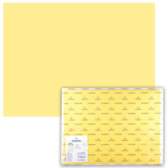 "Бумага (картон) CANSON ""Iris Vivaldi"", А2+, 500х650 мм, 240 г/м2, 2-сторонняя, светло-желтая"