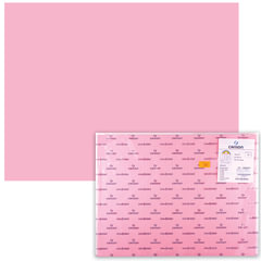 "Бумага (картон) CANSON ""Iris Vivaldi"", А2+, 500х650 мм, 240 г/м2, 2-сторонняя, розовая"