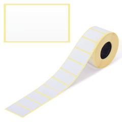 Этикетка ТермоТоп, для термопринтера и весов, 43х25х1000 шт. (ролик), светостойкость до 12 месяцев