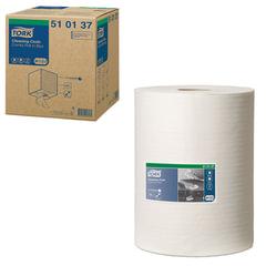 Протирочный нетканый материал TORK (Система W1, W2, W3) Premium, 400 листов в рулоне, 32х38 см, 510137