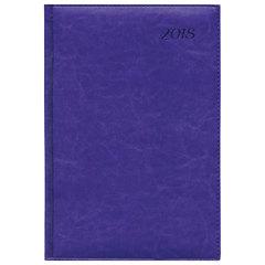 """Еженедельник датированный 2018, A4-, BRAUBERG """"Legend"""", """"гладкая кожа"""", фиолетовый, 190х268 мм"""