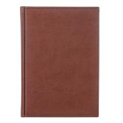 "Ежедневник датированный 2018, А5, ERICH KRAUSE ""Vivella"", гладкая кожа, коричневый, 176 л., 148х210 мм"