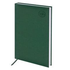 "Ежедневник датированный 2020 А4, BRAUBERG ""Favorite"", фактурная кожа, зеленый, 210х297 мм"