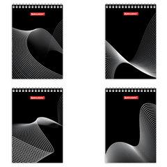 """Блокнот А6, 80 листов, гребень, клетка, BRAUBERG """"Бесконечность"""", 95х140 мм"""