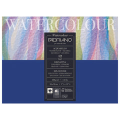 Альбом для акварели FABRIANO Watercolour Studio среднее зерно, 12 л., 300 г/м2, А4+, 240х320 мм