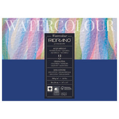 Альбом для акварели FABRIANO Watercolour Studio среднее зерно, 12 л., 300 г/м2, А3-, 260х360 мм