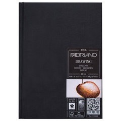Блокнот для зарисовок FABRIANO Drawingbook мелкое зерно, 60 л., 160 г/м2, А5, 148x210 мм