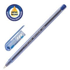 """Ручка шариковая масляная PENSAN """"My-Pen"""", СИНЯЯ, корпус тонированный синий, узел 1 мм, линия письма 0,5 мм"""