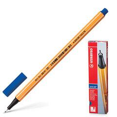 """Ручка капиллярная STABILO """"Point"""", корпус оранжевый, толщина письма 0,4 мм, синяя"""