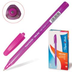 """Ручка шариковая PAPER MATE """"Inkjoy 100"""", корпус тонированный розовый, узел 1,2 мм, линия 1 мм, розовая"""