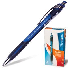 """Ручка шариковая автоматическая PAPER MATE """"Inkjoy 550 RT"""", узел 1,2 мм, линия 1 мм, синяя"""