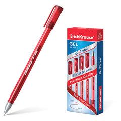 """Ручка гелевая ERICH KRAUSE """"G-Tone"""", КРАСНАЯ, корпус тонированный красный, узел 0,5 мм, линия письма 0,4 мм"""