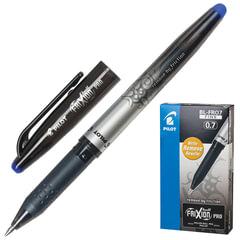 "Ручка ""Пиши-стирай"" гелевая PILOT ""Frixion Pro"", корпус с печатью, узел 0,7 мм, линия 0,35 мм, синяя"