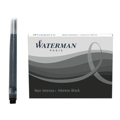 Картриджи чернильные WATERMAN, комплект 8 штук, черные, S0110850