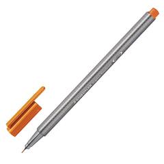 Ручка капиллярная STAEDTLER (Германия), трехгранная, толщина письма 0,3 мм, светло-коричневая