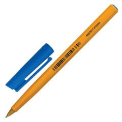"""Ручка шариковая STAEDTLER (Германия) """"Stick"""", Синяя, корпус желтый, узел 0,8 мм, линия письма 0,25 мм"""