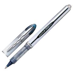 """Ручка-роллер UNI-BALL (Япония) """"Vision Elite"""", корпус серый, узел 0,8 мм, линия 0,6 мм, синяя"""