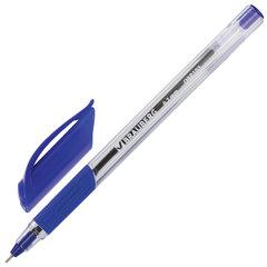 """Ручка шариковая масляная с грипом BRAUBERG """"Extra Glide GT"""", СИНЯЯ, трехгранная, узел 0,7 мм, линия письма 0,35 мм, 142681"""
