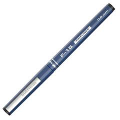 """Ручка капиллярная ERICH KRAUSE """"F-15"""", ЧЕРНАЯ, корпус синий, линия письма 0,6 мм"""