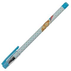 """Ручка шариковая BRUNO VISCONTI """"HappyWrite"""", """"Мишка с воздушным змеем"""", узел 0,5 мм, линия 0,3 мм, синяя"""