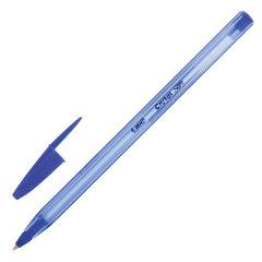 """Ручка шариковая масляная BIC """"Cristal Soft"""", корпус тонированный, узел 1,2 мм, линия 0,35 мм, синяя"""