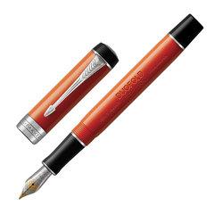 """Ручка перьевая PARKER """"Duofold Classic International Big Red Vintage CT"""", черная, 1931377"""