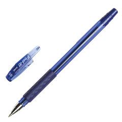 """Ручка шариковая масляная с грипом PENTEL (Япония) """"Feel it!"""", СИНЯЯ, трехгранная, узел письма 0,5 мм"""