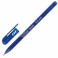 Ручка шариковая масляная PENSAN Star Tech, СИНЯЯ, игольчатый узел 1 мм, линия 0,8 мм, 2260/12