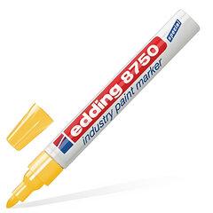 Маркер перманентный для промышленной графики EDDING, 2-4 мм, круглый наконечник, желтый
