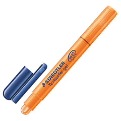 "Текстмаркер STAEDTLER (Германия) ""Textsurfer"", гелевый, сухой, круглый, 3 мм, оранжевый"