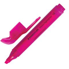 """Текстмаркер STAEDTLER (Германия) """"Triplus"""", трехгранный, скошенный, 2-5 мм, неон розовый"""