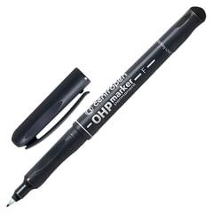 """Маркер перманентный для любой гладкой поверхности CENTROPEN """"Ohp"""", трехгранный, 0,6 мм, черный"""