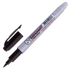"""Маркер перманентный (нестираемый) CROWN """"Multi Marker Super Slim"""", тонкий, 1 мм, черный"""