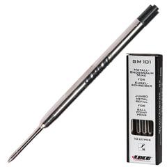 Стержень шариковый LACO, тип PARKER, металлический, 98 мм, линия письма 0,5 мм, черный
