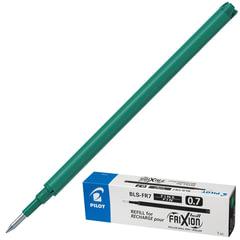 """Стержень гелевый """"Пиши-стирай"""" PILOT BLS-FR-7, 111 мм, евронаконечник, 0,35 мм, к ручке 141834, зеленый"""